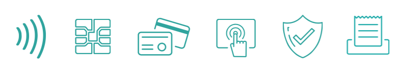 Card Payment acceptance mediums, EMV, Near Field NFC, Magstripe